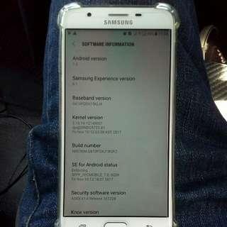 Samsung j7 prime untuk di letgo