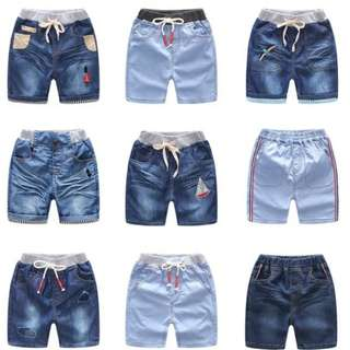 DENIM SHORT PANT