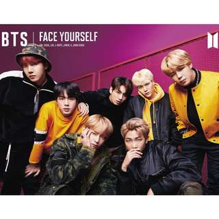 "BTS 3RD JAPANESE ALBUM ""FACE YOURSELF"" TYPE B"