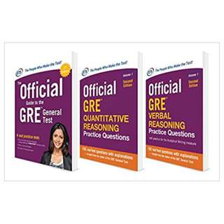 Official GRE Super Power Pack 2/E 2nd Edition, Kindle Edition by Educational Testing Service  (Author)