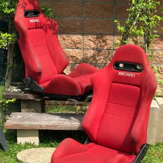 Recaro Integra DC5 Type R Red Edition