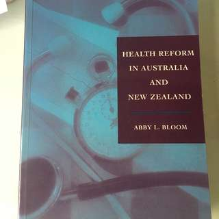 Health Reform in Australia and New Zealand