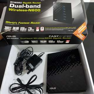Asus & dlink router