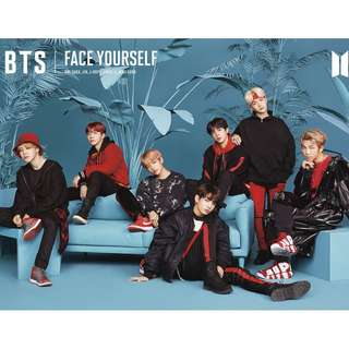 "BTS 3RD JAPANESE ALBUM ""FACE YOURSELF"" Type C"