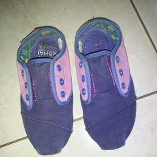 Sepatu kohai anak ungu no 32