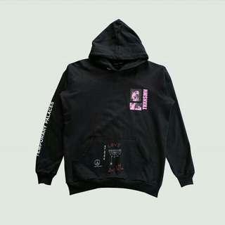 New Sweater Hoodie Hitam Streetwear Pria