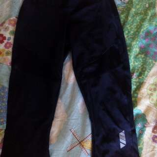Zumba capri pants black