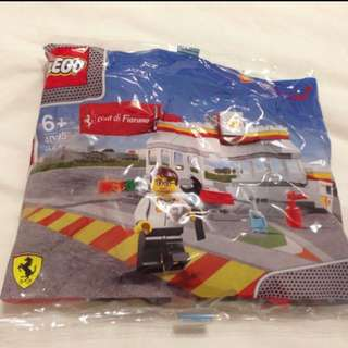 BN LEGO Ferrari set with serial number