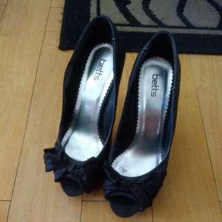Betts Peep Toe Heels