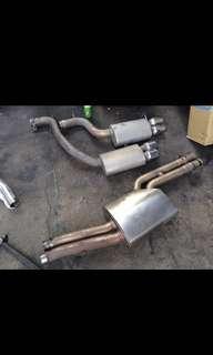 Audi S5 V8 4.2 MTM Exhaust system
