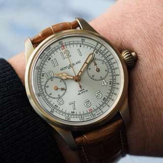 Montblanc - Limited 100 Edition Chronograph Tachymeter Bronze