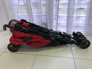 Easywalker Stroller - Red Colour