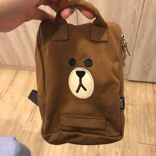 Line熊大寵物自背包