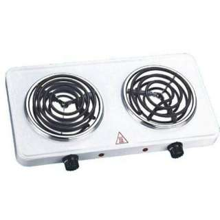 Doubled electric stove