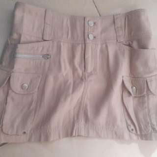 Preloved Roķ Mini Warna Coklat Fit to L Material Katun