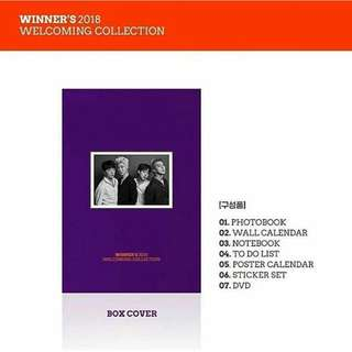 [PREORDER] Winner 2018 Welcoming Collection