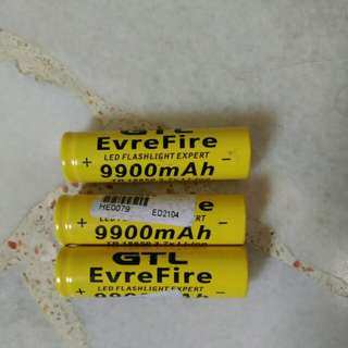 3.7v rechargeable Battery 9900mAh