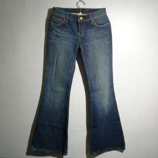 The limited size 0 flare pants