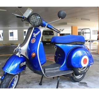 Vintage beauty Vespa PX150 FD plate Coe Feb2023 Renewable Reg Aug1984 RT 29/10/2018 Superhard compression NO trading and Lowballing Not urgent sale