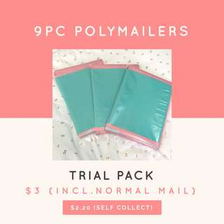 Trial Pack Polymailers Inclusive of Normal Mail @ $3