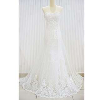 [CLEARANCE] Mermaid Lace Wedding Gown