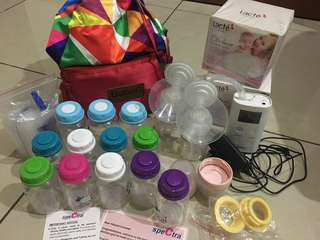 Spectra 9 breastpump & Freemie collection cups