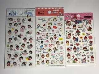 全新 韓國 貼紙