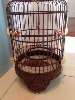 Old Bat design Puteh cage