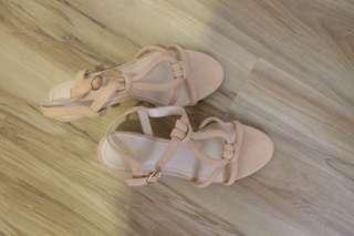 H & M hig heels pakai sekali