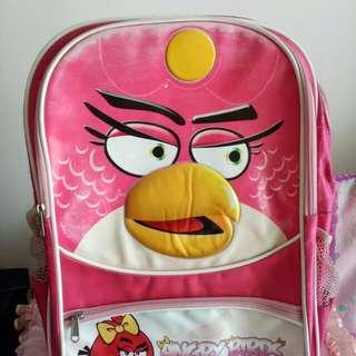 Tas sekolah angry bird