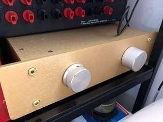 Passive pre amplifier amp
