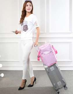 Waterproof Travel Bag (Pink)