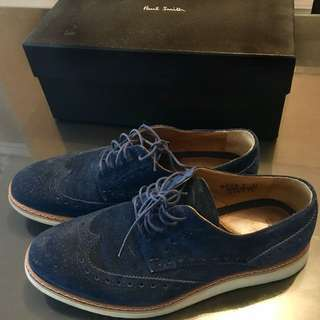Paul Smith Blue Suede Shoes