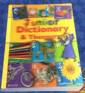 Junior Dictionary & Thesaurus