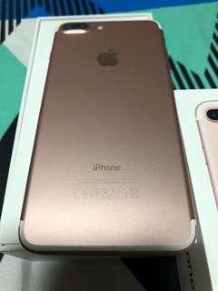 Iphone 7plus 128gig Rose Gold