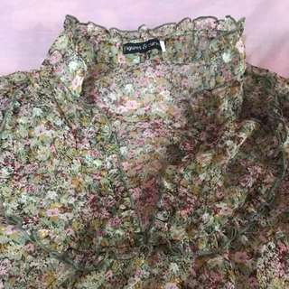 Corporate Floral Top