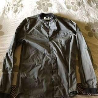 Gray Topman button down jacket