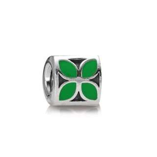 Authentic pandora 925 clover flower charm