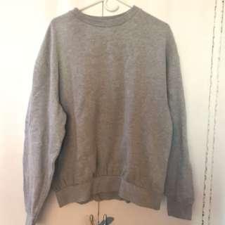 Topman grey sweatshirt