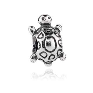 Authentic pandora 925 turtle charm