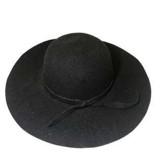 Felt Hat - Black