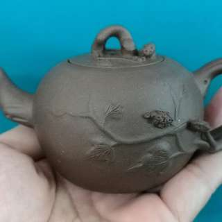 80an-90an Yi Xing Purple Clay Tea Pot
