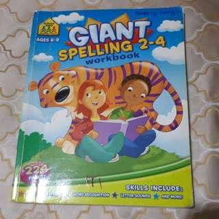 Giant Spelling Workbook