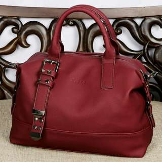 PEDRO Women's Bag Garcia Handbag Clemence Leather Hardware Black 852*