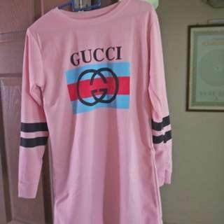 Long sleeve pink
