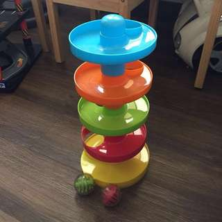 Baby and Toddler Toy - Ball Ramp