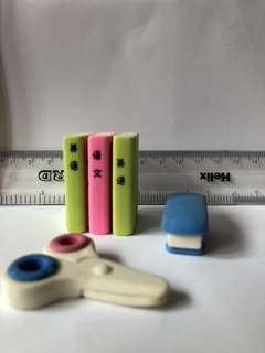Cute stationary erasers