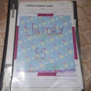 HISTORY & SOCIAL STUDIES O LEVEL NOTES