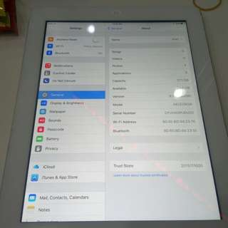 Ipad air, generasi 3/32 gb..