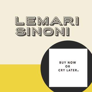 LemarisiNoni-BUY NOW OR CRY LATER! 😘